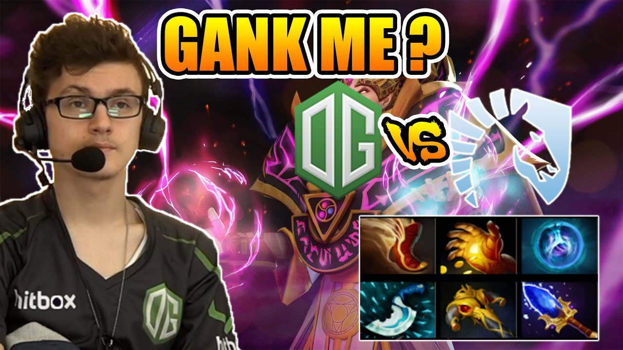 Miracle Dota  Invoker Ganking Me Is Not Enough Og Vs Team Liquid Epicenter Moscow Game  Youtube