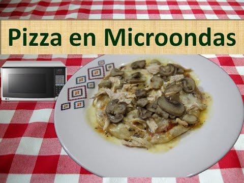 Cómo Preparar Pizza en el Microondas - Receta de Pizza Casera