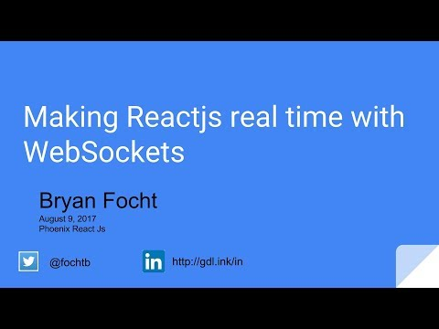 Making Reactjs real time with WebSockets