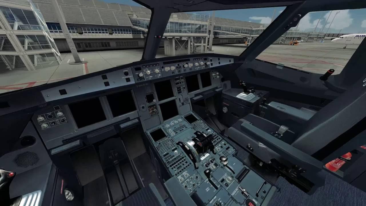 [FSX] Flight Sim Labs A320-X - QUICK COCKPIT TEST (NO TUTORIAL - NO  NARRATION!)