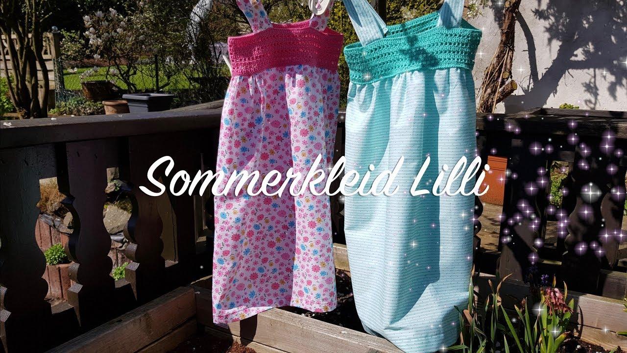 Sommerkleid Nähen Und Häkeln Für Anfänger Gründl Nähset