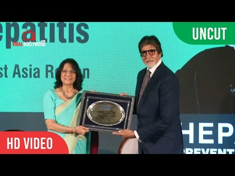 UNCUT - Amitabh Bachchan Important Announcement Of Hepatitis | World Health Organization