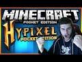 ★Minecraft Pocket Edition - HYPIXEL SERVER - EPIC Hunger Games Battle★