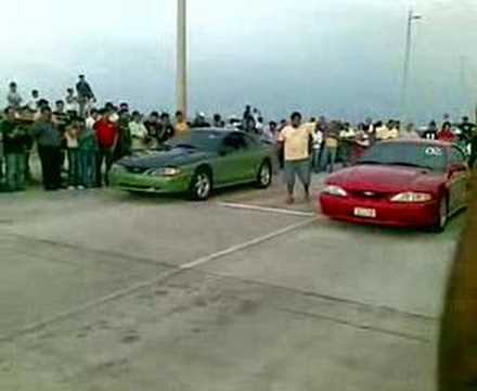 Mustangs V12 + 620/7500 bhp/rpm + 6 vel. F1