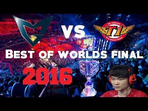 BEST OF WORLDS 2016 FINALS - SKT vs SSG HIGHLIGHTS - All Games, S6, LoL Championship