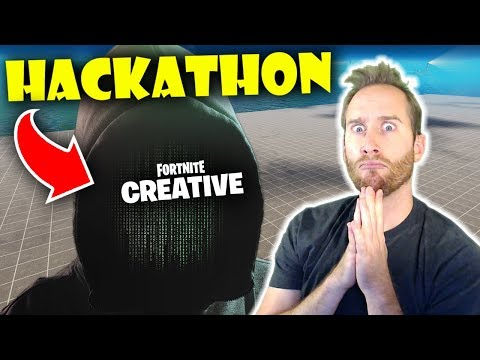 The First Ever Fortnite Creative Hackathon!