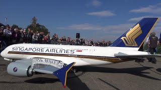RC Airbus A-380 Gigantic Airliner 50'000$ Radio controlled Turbine Model Singapore Airlines