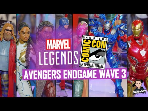 Avengers End Game Wave 3 Marvel Legends SDCC Reveals