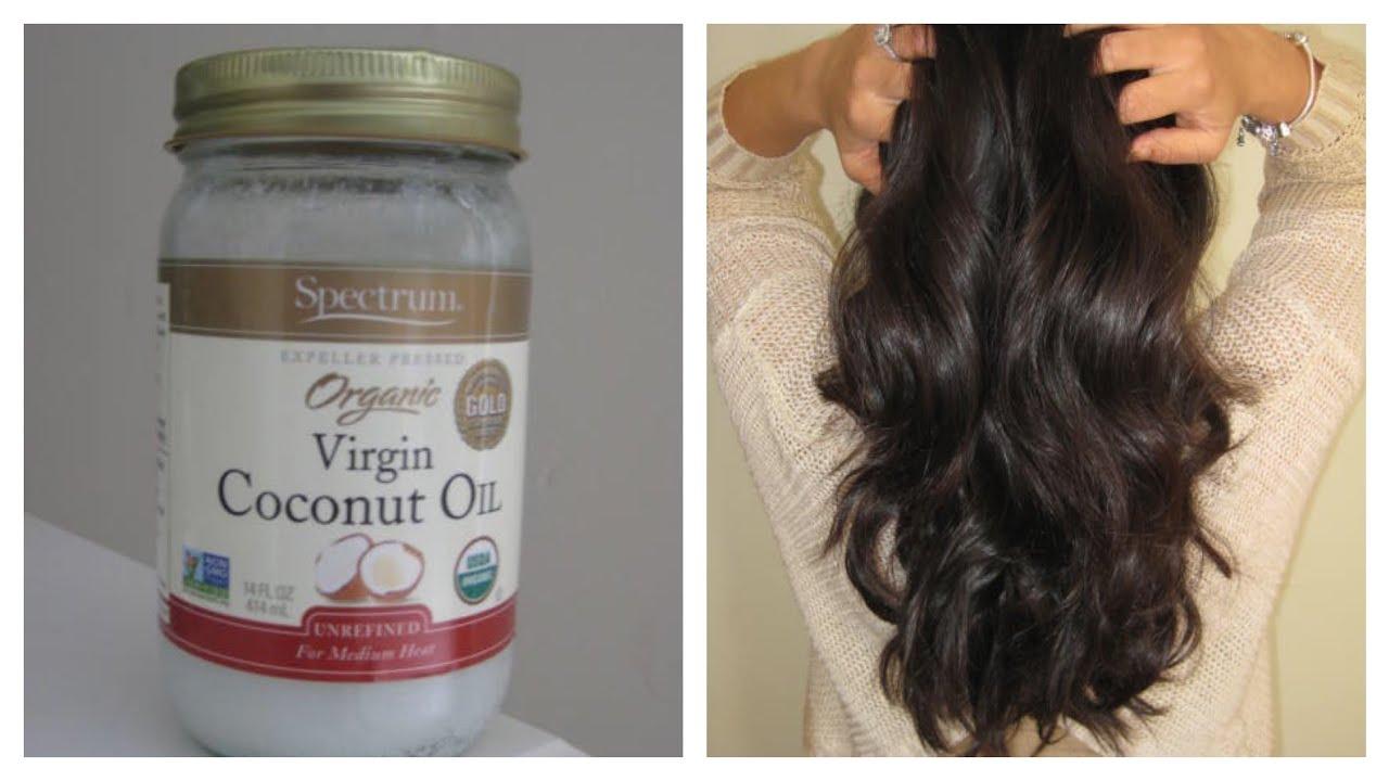 beneficios del coco en el pelo