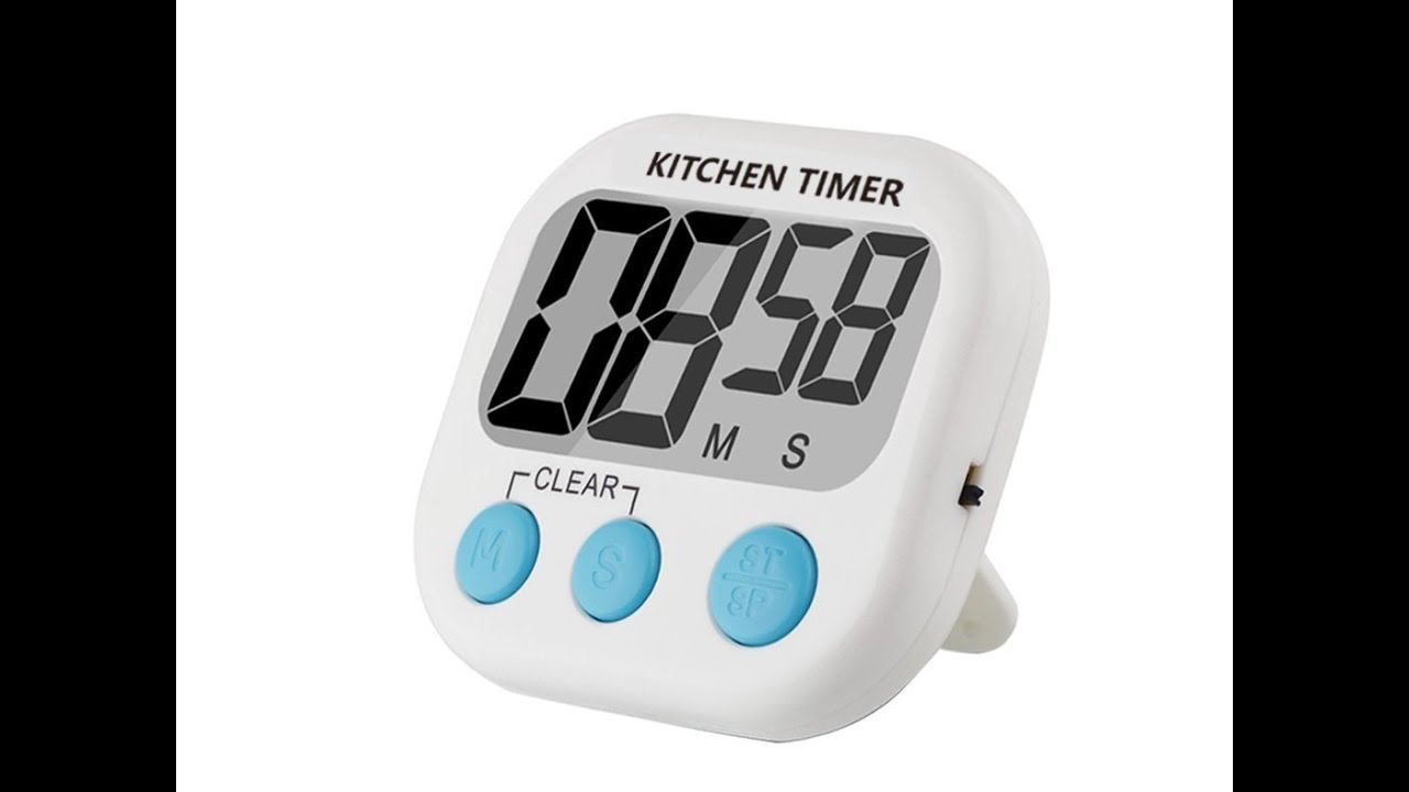 Digital Kitchen Timer by Feewer - YouTube
