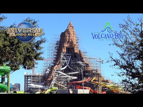 Volcano Bay Construction November 2016 - Universal's Water Park - Full Size Volcano Update