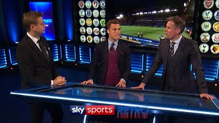 MNF reaction to Leicester winning the Premier League