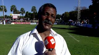 Rugby Africa Gold Cup: Interview with Zimbabwe coach, Peter de Villiers after Zimbabwe - Morocco