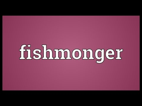 Fishmonger Meaning