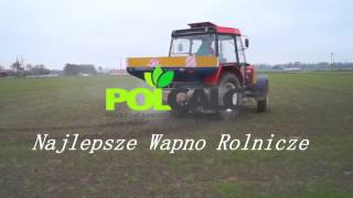 Siew wapna II Polcalc Najlepsze Wapno Rolnicze II