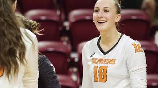 Oregon State Volleyball: Highlights vs Virginia