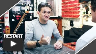 SER UNICO EN YOUTUBE con Casey Neistat - Youtube Restart LuzuVlogs #5