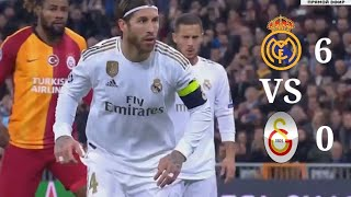 Real Madrid 6-0 Galatasaray | Champion League Highlight and Goal| 11-11-2019 - KakaBR