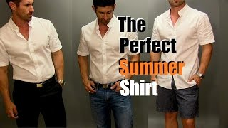 The Perfect Summer Shirt | Most Versatile Men