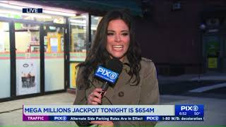 Mega Millions prize of $654M is nation`s 4th-largest