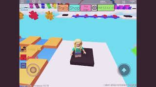 How you could skip stages on Mega Fun Obby- Roblox- Earvin Williams