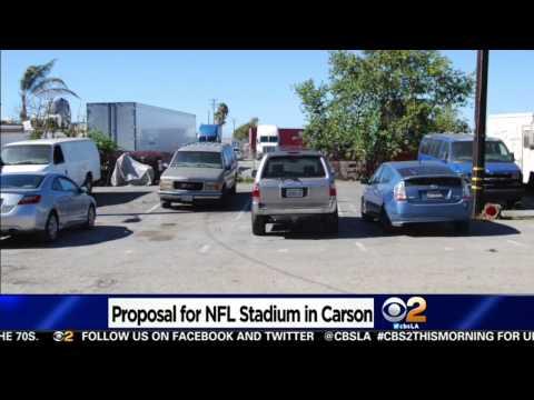 Carson Stadium Location