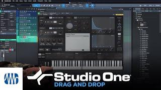 PreSonus Studio One Tutorials Ep. 5: Drag and Drop