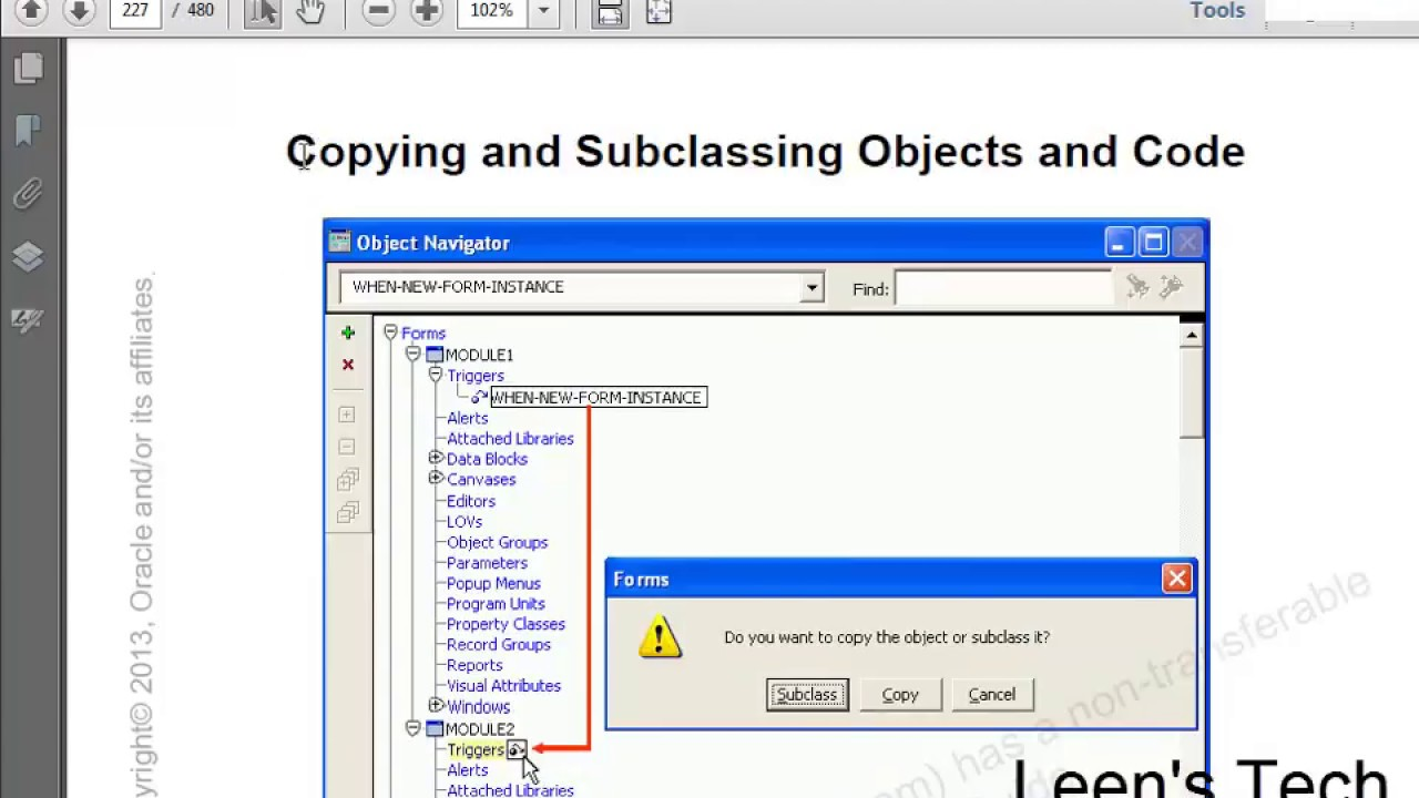 Oracle forms 10g tutorial in bangla copying subclassing objects oracle forms 10g tutorial in bangla copying subclassing objects code sharing objects and code baditri Image collections