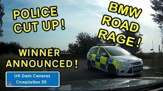 UK Dash Cameras - Compilation 26 - Bad Drivers, Crashes + Close Calls