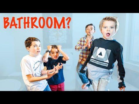 Last to Leave the Bathroom!!  Ohana Boys vs Jake & Ty