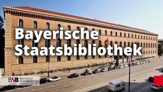 Wie funktioniert die Bayerische Staatsbibliothek?