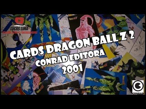 Cards do Dragon Ball Z 2 da Conrad de 2001