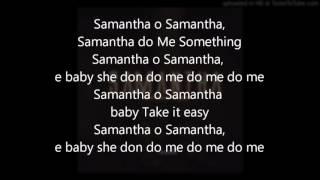 Tekno - samantha (lyrics)