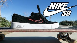NIKE SB SKATE SHOE REVIEW! (skated for a week)