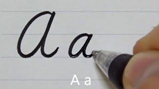 Как писать аккуратным и чистым скорописным почерком   каллиграфия