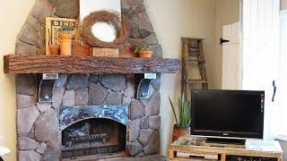 Облицовка камина. Красивый пример(Облицовка камина. Посмотрите интересный пример как своими руками облицевать камин камнем http://dachasvoimirukami.ru/pag..., 2014-07-30T09:51:36.000Z)