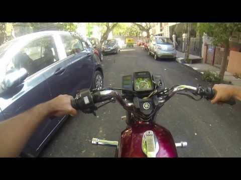 Sunday afternoon in Bangalore with Yamaha RX 135 & GoPro Hero 3...Be a Hero