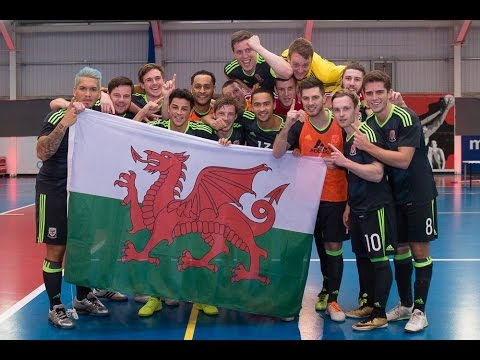 Wales are crowned home nations Futsal Champions!