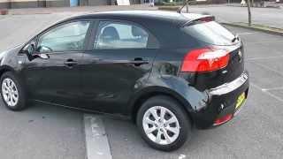 Кіа Ріо 1, 1.25, бензин, механічна, чорний - CA62NZZ Уессекса гаражі Ньюпорт