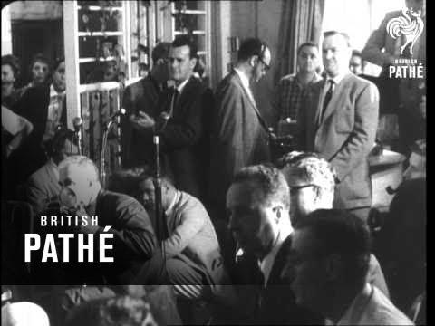 Rockefeller & Nixon Speak (1960)