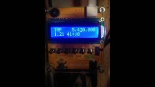 MR100 Antenna analyzer - Scan test