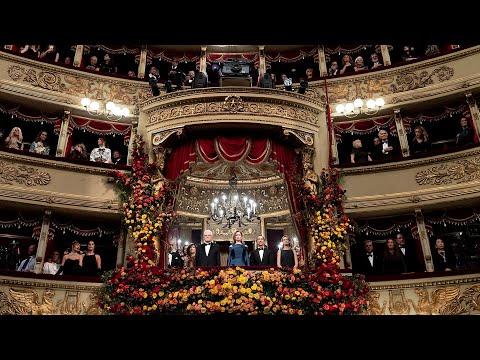 Intervento del Presidente Mattarella al Teatro alla Scala di Milano