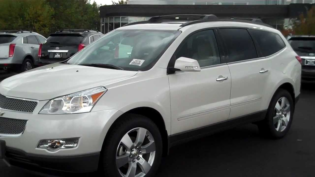 2012 chevrolet traverse ltz white diamond burns chevrolet rock hill. Cars Review. Best American Auto & Cars Review