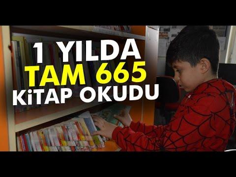 Bir Yılda 665 Kitap Okudu