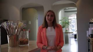 Business School Notenboom Student Frederique loopt stage bij Landgoed de Salentein