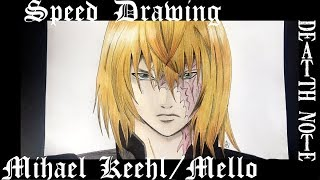 Speed Drawing Mello/Mihael Keehl [Death Note]
