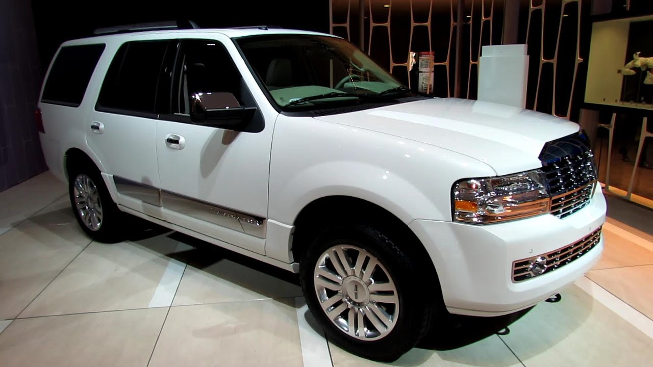 2013 lincoln navigator exterior and interior walkaround 2013 detroit auto show