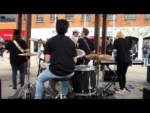 Smooth Criminals Performing at Fareham Bandstand