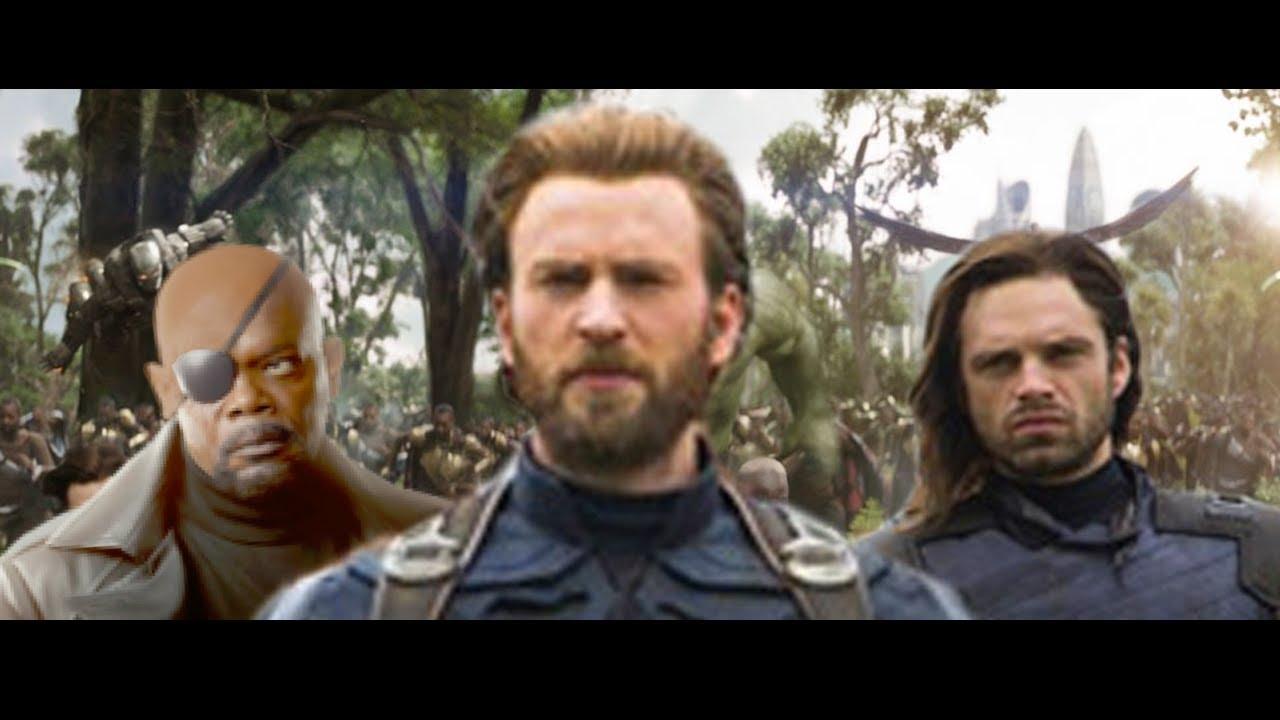 Twc Live Tv >> INFINITY WAR Secret Scene? Bucky & Nick Fury (+Others!) - YouTube