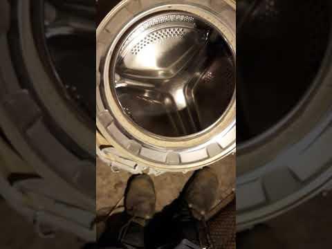 Накипь в стиральной машинке